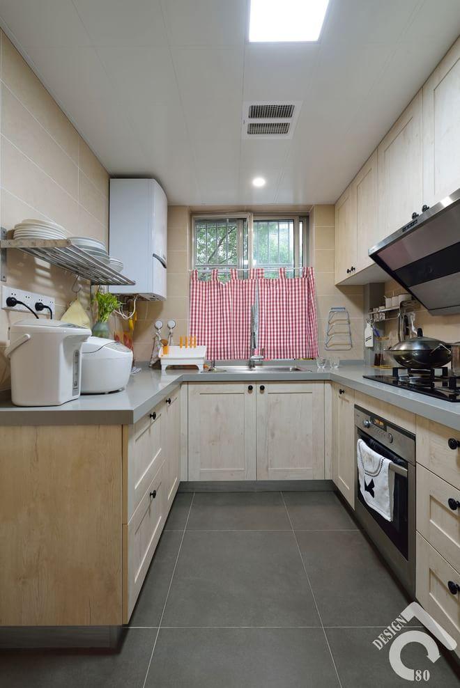 厨房图片来自四川岚庭装饰工程有限公司在80平质朴静室的分享