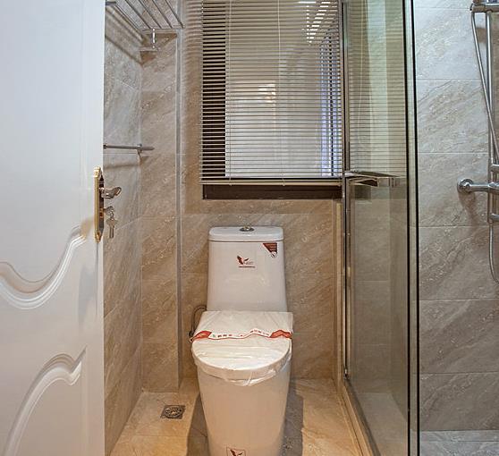 新古典 高端大气 有品位 卫生间图片来自佰辰生活装饰在94平新古典两室两厅的分享