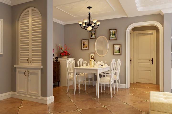 餐厅图片来自今朝装饰小徐在方丹苑 120平美式风格的分享