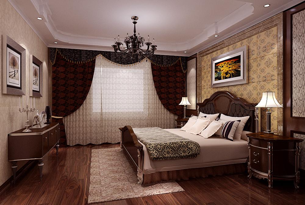 卧室图片来自今朝装饰小徐在香雪兰溪 130平新古典风格的分享