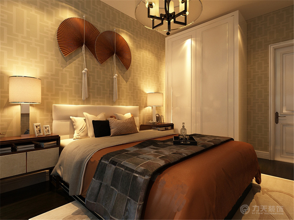 卧室图片来自阳光力天装饰梦想家更爱家在简约  大港油田福华里  129㎡的分享