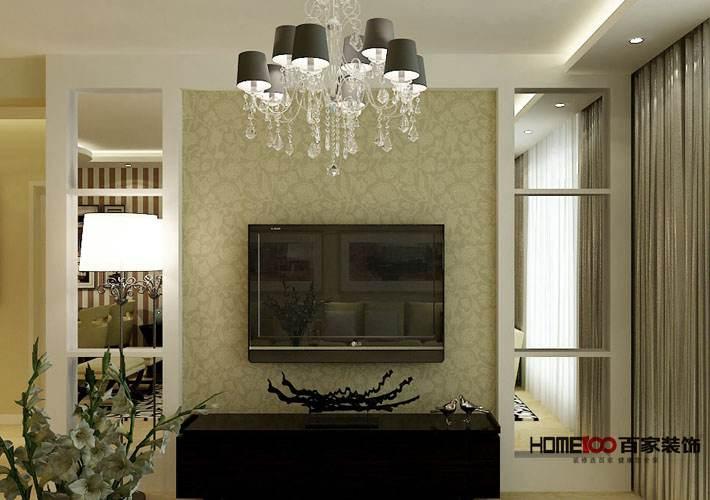简约 三居 金地檀溪 客厅图片来自百家设计小刘在金地檀溪150平现代风格半包5.6万的分享