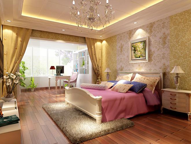 田园 二居 卧室图片来自北京今朝装饰郭风在北大地三里的分享