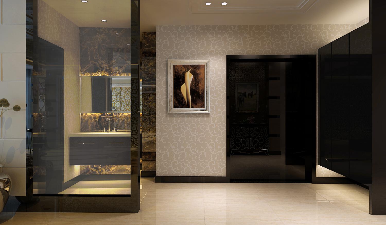 玄关图片来自今朝装饰小徐在望海名居 125平后现在奢华风格的分享