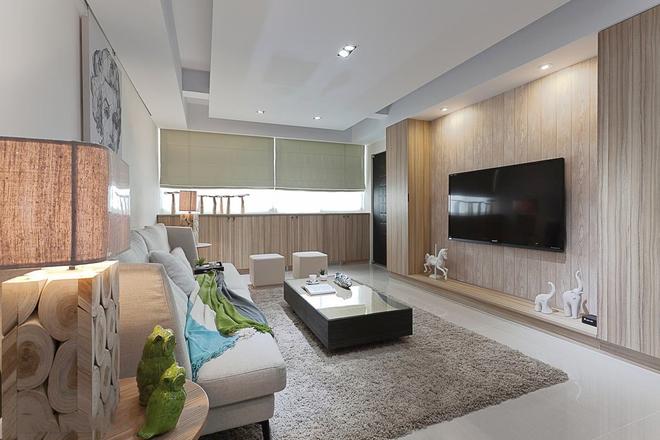 客厅图片来自四川岚庭装饰工程有限公司在76平老屋翻新 重启新生活的分享