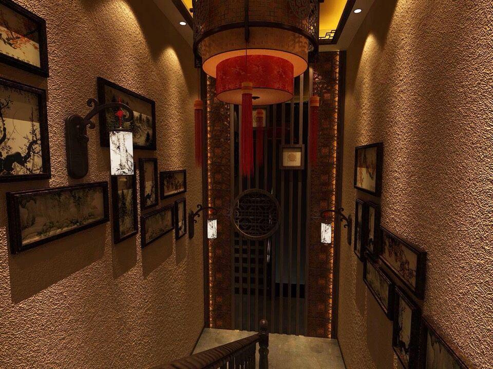 田园 楼梯图片来自室内设计师--杨刚在吕梁会所的分享