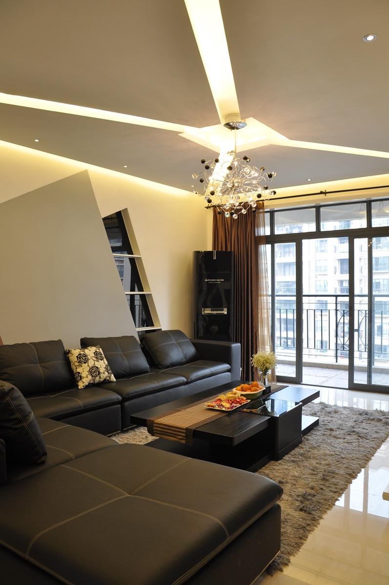 客厅图片来自设计师胡狸在黑白啡的低调曲的分享