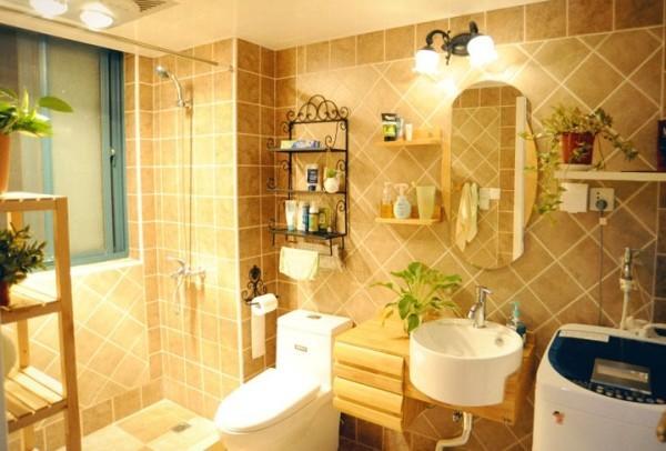 卫生间图片来自四川岚庭装饰工程有限公司在74平清爽日式田园风格装修的分享