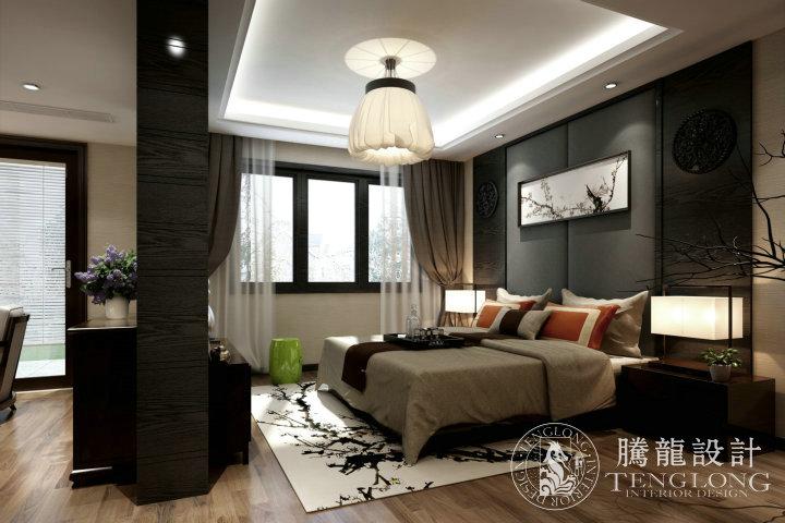 绿地曼哈顿 装修设计 腾龙设计师 林财表作品 卧室图片来自林财表在绿地曼哈顿现代简约风格设计的分享