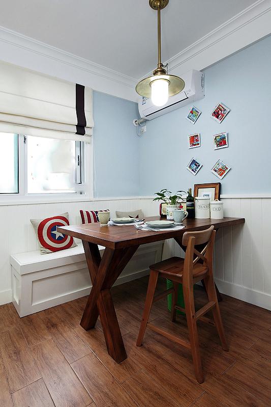 餐厅图片来自四川岚庭装饰工程有限公司在美式二居室的分享