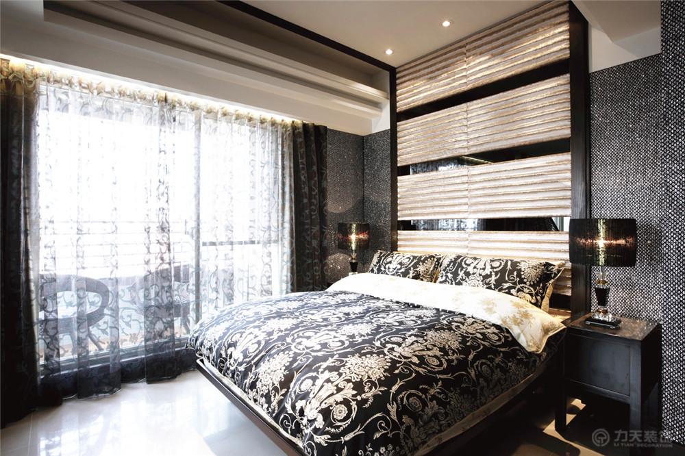 二居 80后 小资 简约 卧室图片来自阳光放扉er在力天装饰-保利颂园69㎡的分享