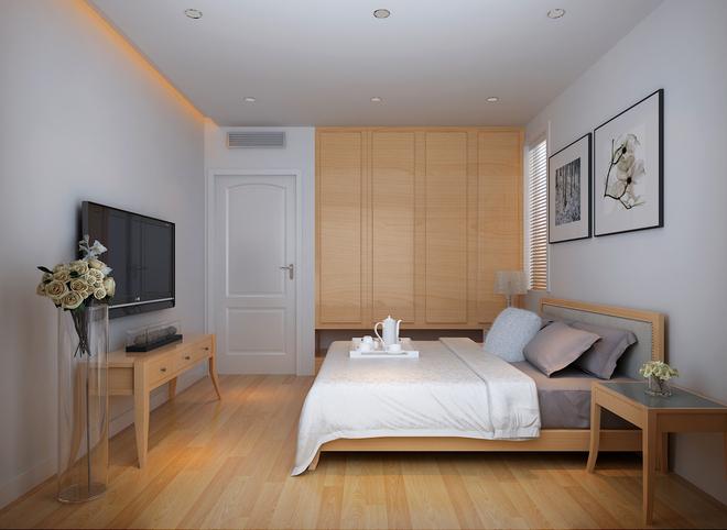卧室图片来自四川岚庭装饰工程有限公司在简约日式的分享
