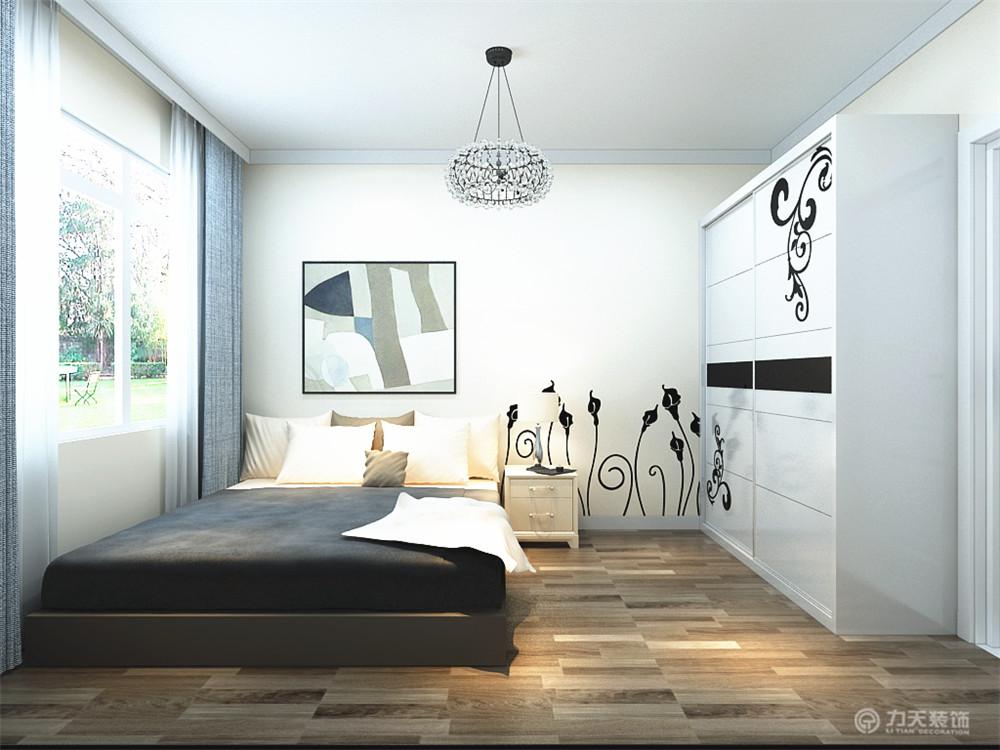 简约 二居 卧室图片来自阳光力天装饰梦想家更爱家在现代简约  先锋道    86㎡的分享
