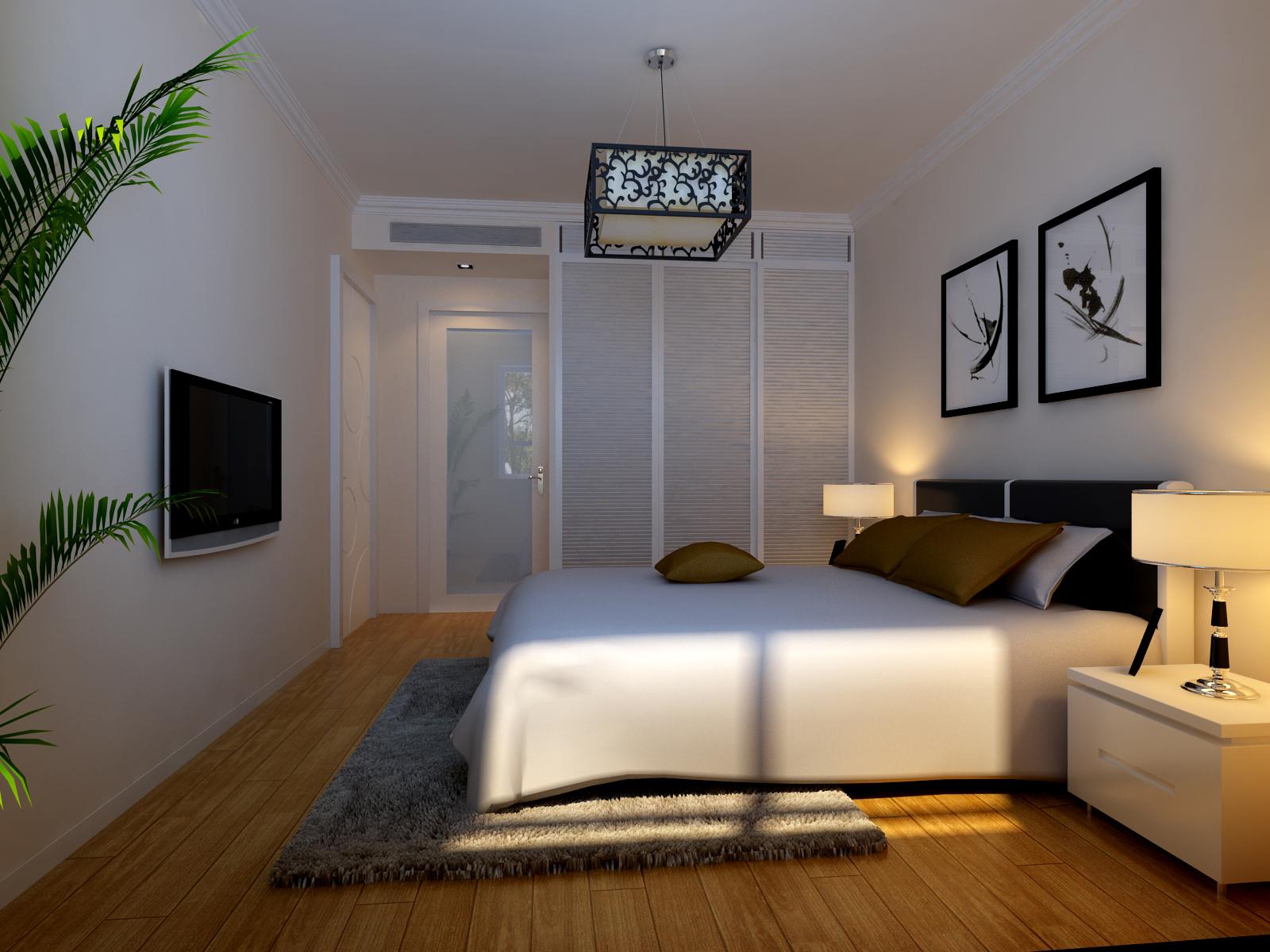 卧室图片来自今朝装饰小徐在中信城 70平现代简约风格的分享