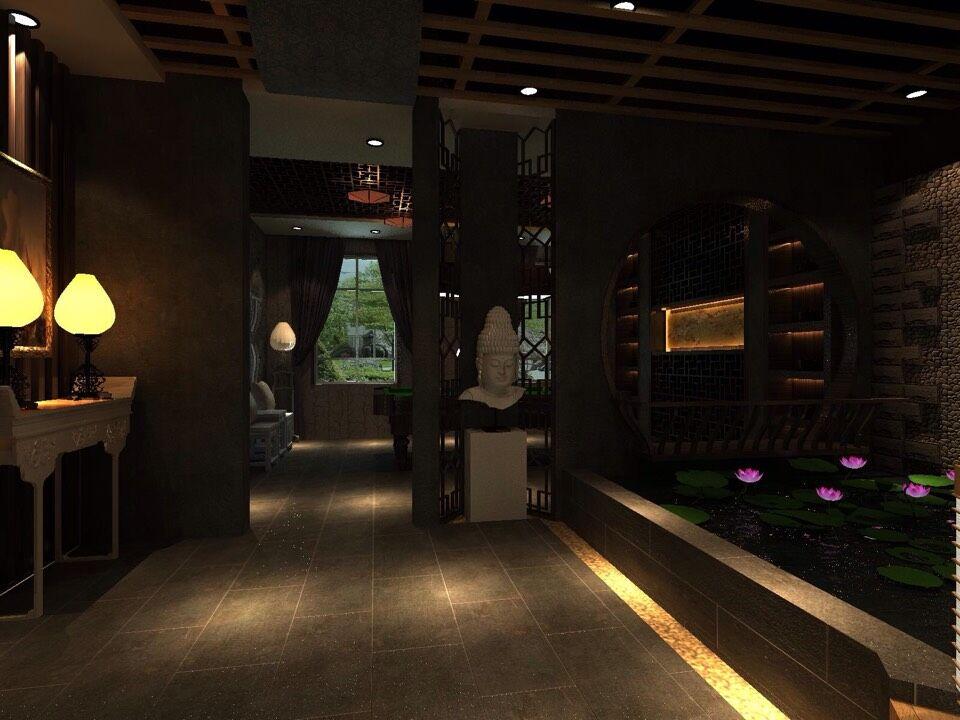 田园 玄关图片来自室内设计师--杨刚在吕梁会所的分享