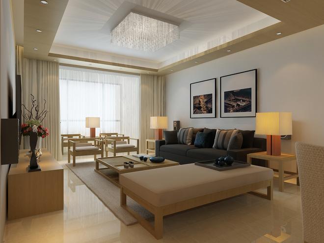 客厅图片来自四川岚庭装饰工程有限公司在简约日式的分享