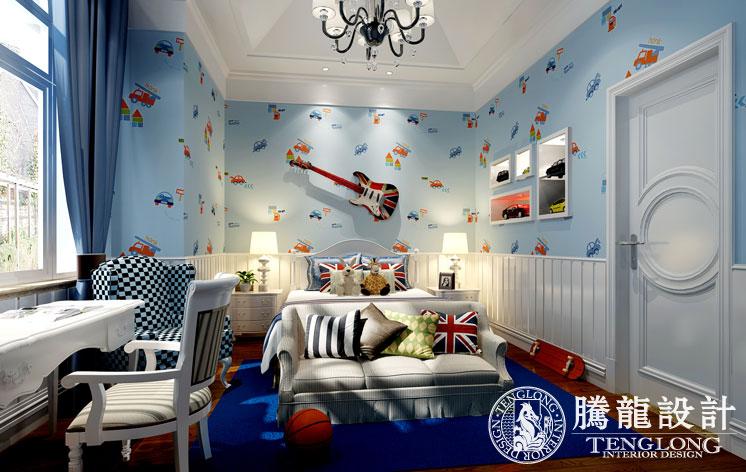 乔爱庄园 别墅装修 别墅设计 欧式古典 腾龙设计 林财表作品 儿童房图片来自林财表在乔爱别墅装修欧式新古典风格的分享