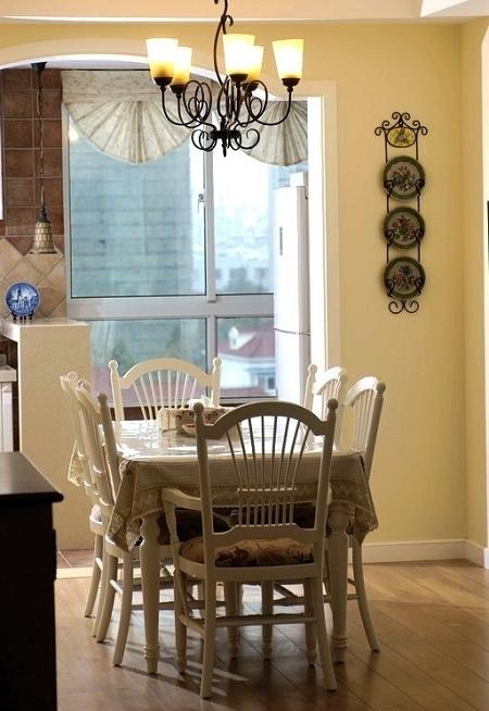 简约 欧式 田园 混搭 二居 三居 别墅 旧房改造 元洲装饰 餐厅图片来自元洲装饰小李在田园风格案例赏析的分享