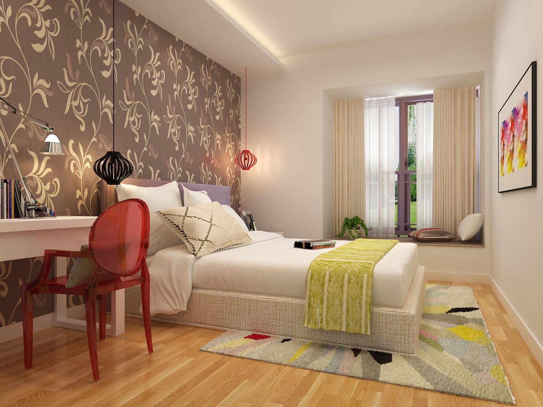卧房图片来自东莞大业美家装饰在江南第一城的分享