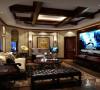 绿洲香格丽花园300平别墅户型装修欧式风格设计方案展示,腾龙别墅设计师林财表作品,欢迎品鉴!