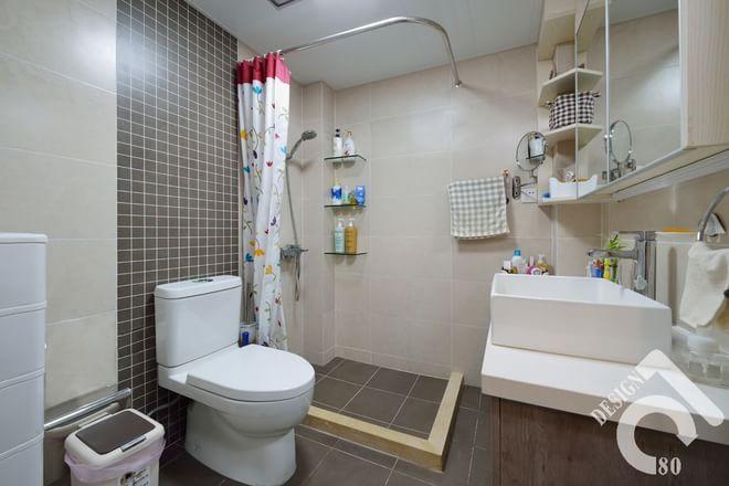 卫生间图片来自四川岚庭装饰工程有限公司在80平质朴静室的分享