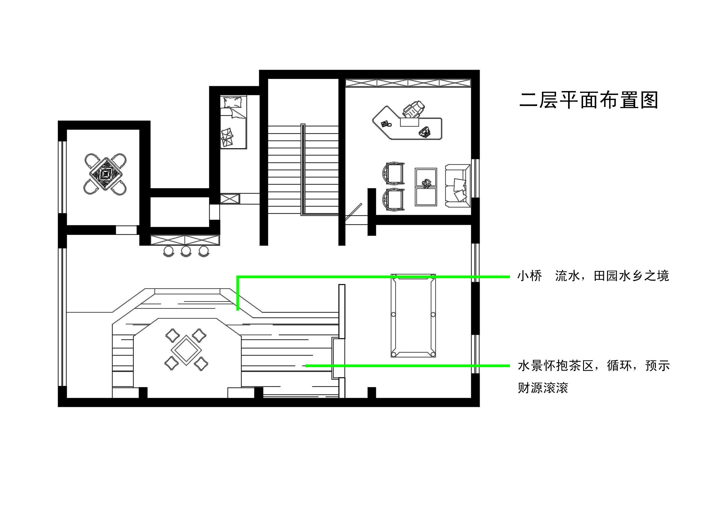田园 户型图图片来自室内设计师--杨刚在吕梁会所的分享