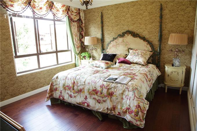 欧式 别墅家具 整屋定制 四居室 卧室图片来自TALMD图迈家居在【TALMD案例】法式·迪亚春天别墅的分享