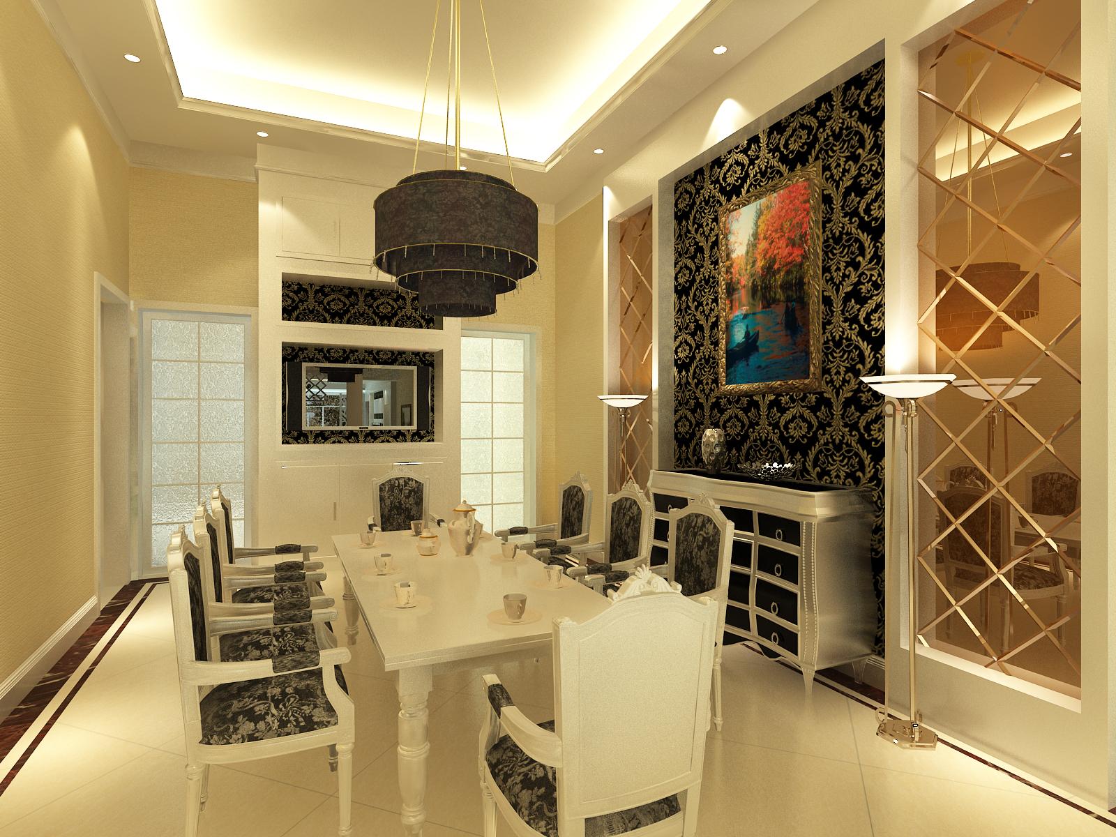 简约 餐厅图片来自室内设计师--杨刚在千禧学府苑的分享