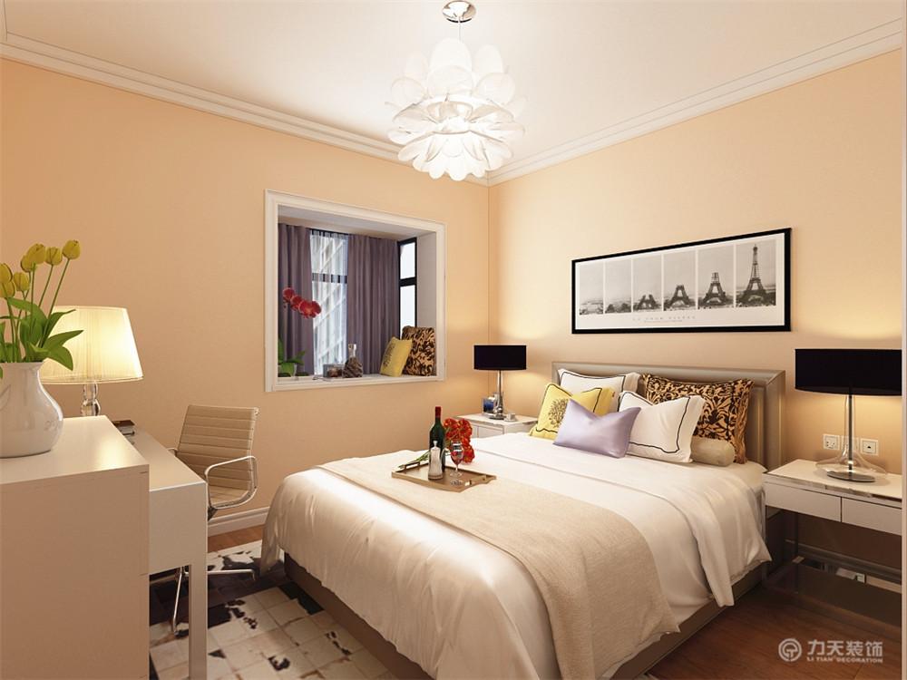 卧室图片来自阳光力天装饰梦想家更爱家在现代简约 南仓新苑  90㎡的分享