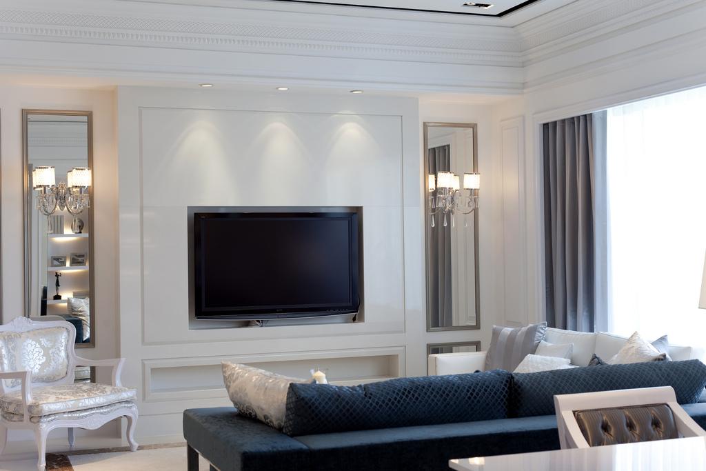 客厅图片来自成都家和装饰在极简的绘画的分享