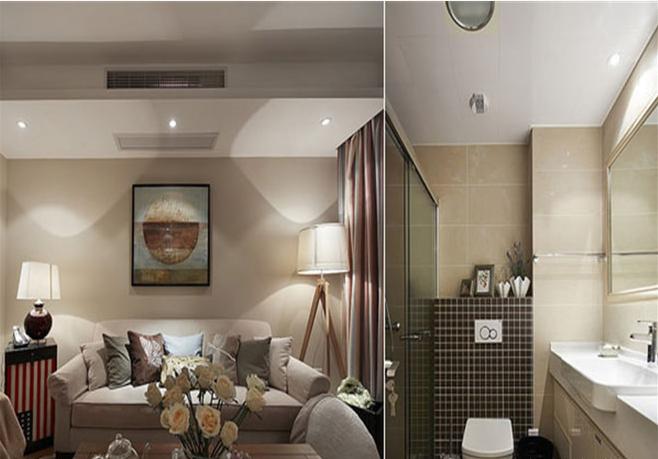 客厅图片来自天津印象装饰有限公司在都市新居装饰案例赏析2015-10-12的分享