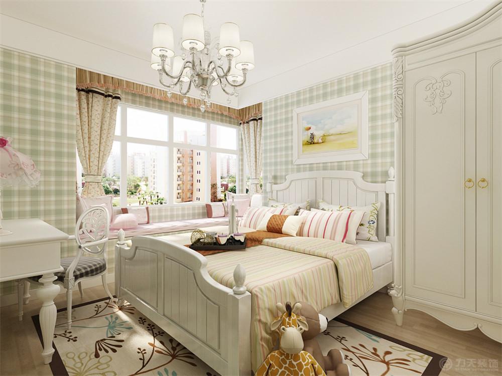 三居 80后 小资 卧室图片来自阳光放扉er在力天装饰-金玺城110㎡的分享