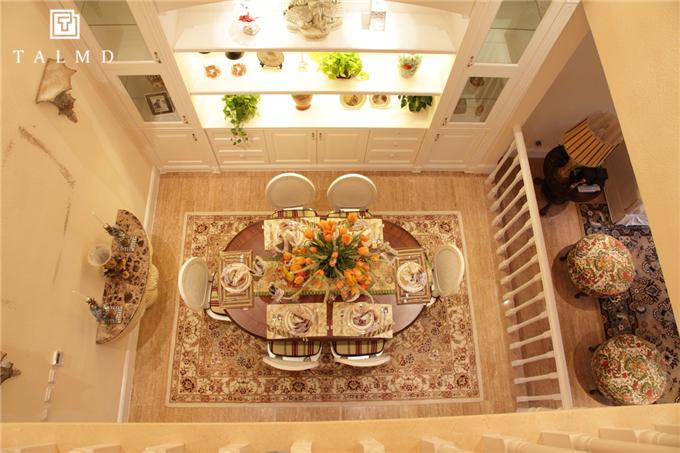 欧式 别墅家具 整屋定制 四居室 餐厅图片来自TALMD图迈家居在【TALMD案例】法式·迪亚春天别墅的分享