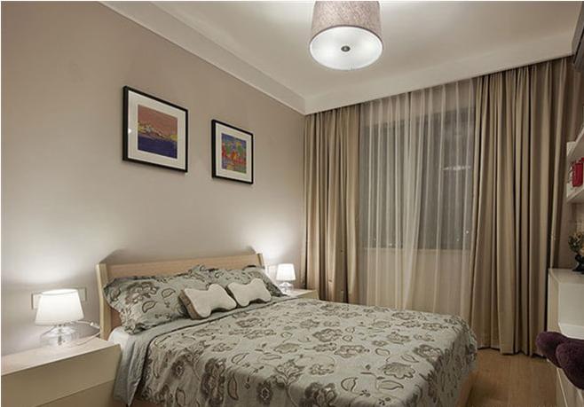 卧室图片来自天津印象装饰有限公司在都市新居装饰案例赏析2015-10-12的分享