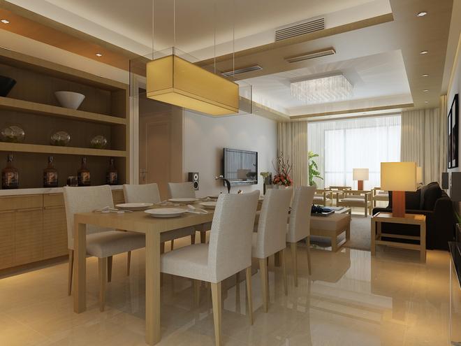 餐厅图片来自四川岚庭装饰工程有限公司在简约日式的分享