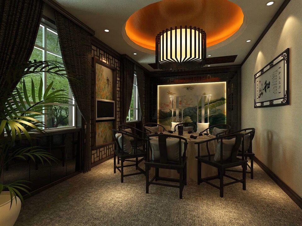 田园 餐厅图片来自室内设计师--杨刚在吕梁会所的分享