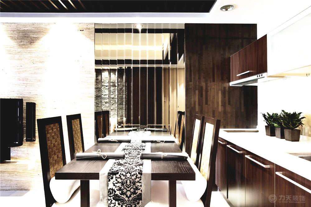 二居 80后 小资 简约 餐厅图片来自阳光放扉er在力天装饰-保利颂园69㎡的分享