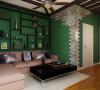 墙面大面积的绿色打造大自然的感觉,清新自然,再配上顶面造型的设计,让整个空间更有感觉。墙面大面积的绿色打造大自然的感觉,清新自然,再配上顶面造型的设计,让整个空间更有感觉。