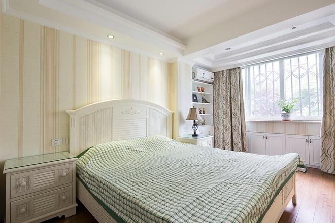 田园 卧室图片来自四川岚庭装饰工程有限公司在80平简欧田园混搭风二室一厅的分享