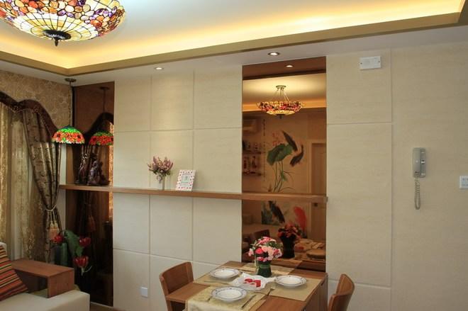餐厅图片来自四川岚庭装饰工程有限公司在72㎡老房翻新东南亚风格的分享