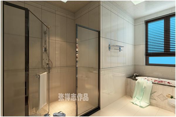 别墅 欧式 小资 卫生间图片来自快乐彩在别墅装修龙湖上叠简欧装修风格的分享