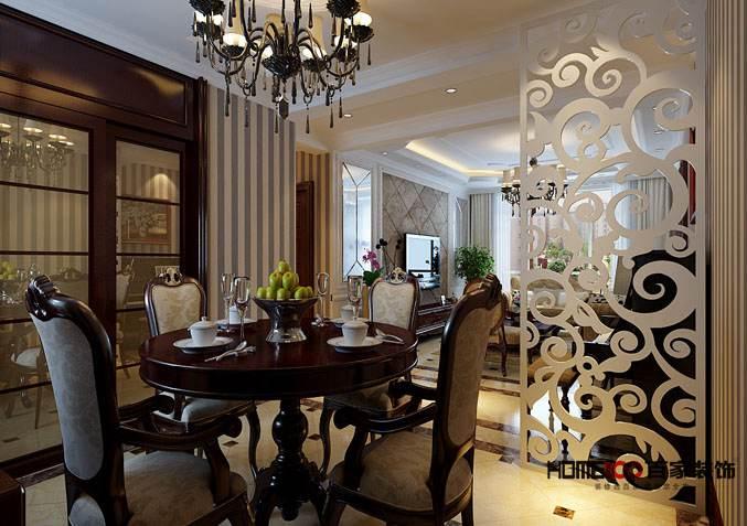 欧式 三居 中海寰宇 餐厅图片来自百家设计小刘在中海寰宇天颂130平欧式风格的分享
