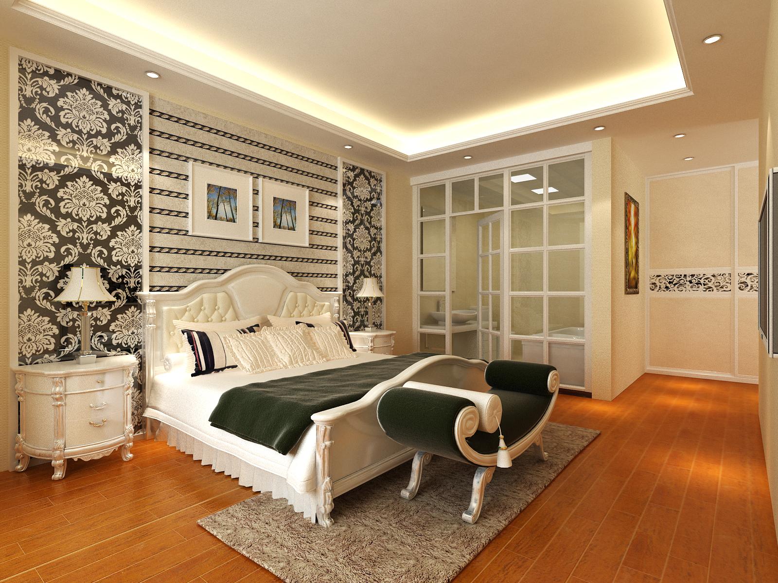 简约 卧室图片来自室内设计师--杨刚在千禧学府苑的分享