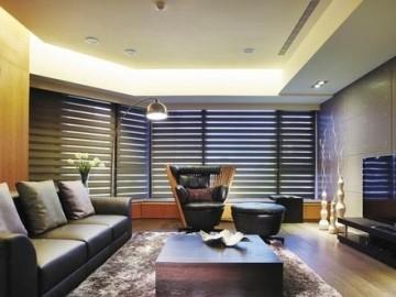 现代时尚文艺范儿 150平3居室