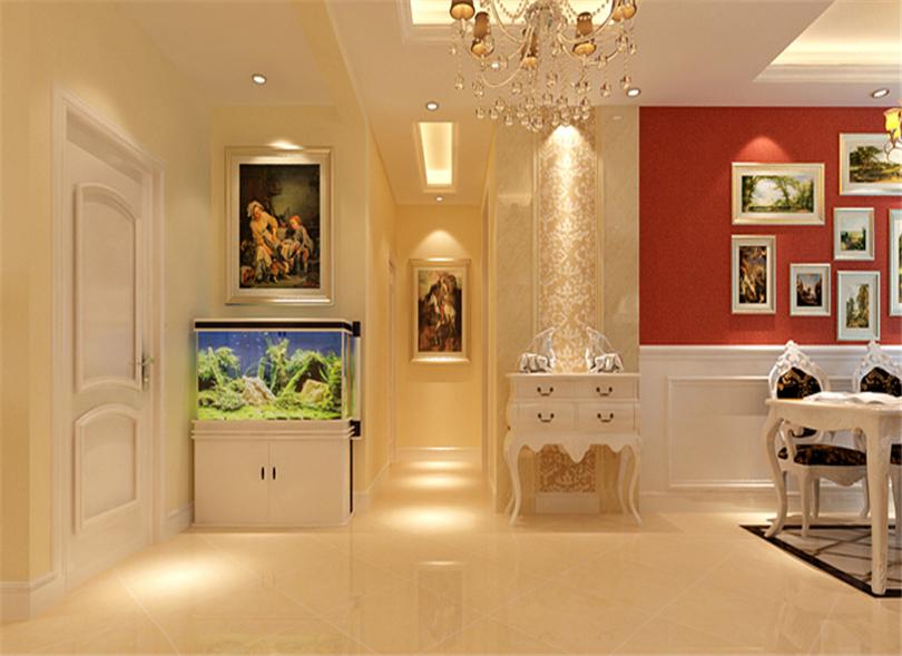 三居 白领 收纳 80后 小资 玄关图片来自实创装饰完美家装在华贸城140平简欧风格案例赏析的分享