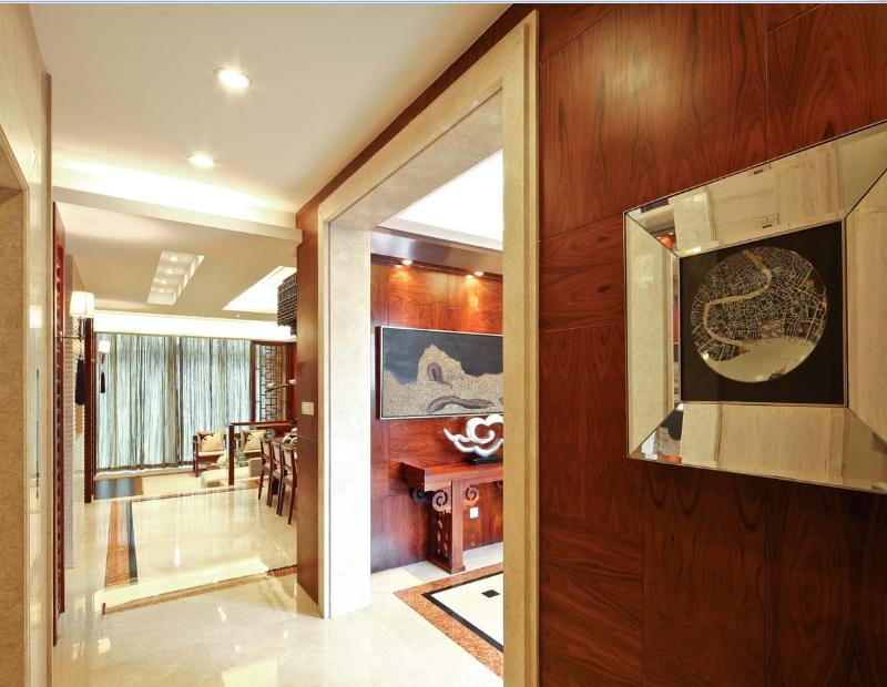 世华龙樾 装修设计 装修风格 别墅装饰 北京装修 玄关图片来自别墅装修设计yan在新中式世华龙樾的分享