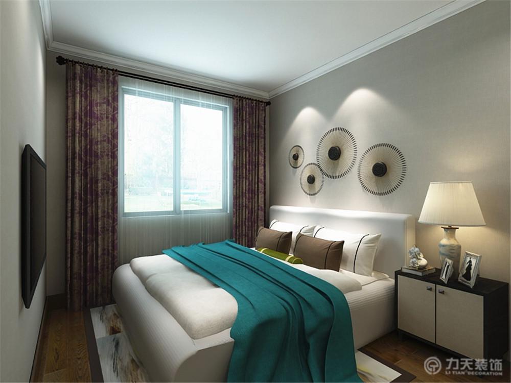 四居 80后 小资 简约 中式 卧室图片来自阳光放扉er在力天装饰-桂荷园134㎡的分享