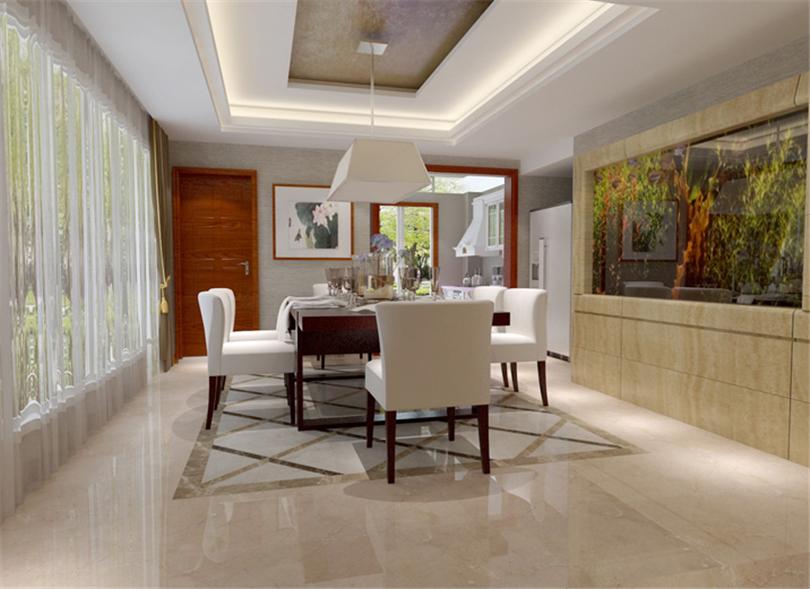 混搭 三居 白领 收纳 旧房改造 小资 80后 餐厅图片来自实创装饰完美家装在孔雀城英国宫254平简中风格案例的分享