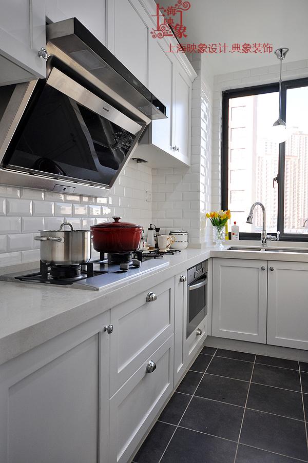 厨房图片来自四川岚庭装饰工程有限公司在简约美式三房两厅的分享