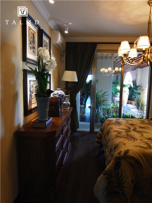 两居室 休闲美式 高端家具 卧室图片来自TALMD图迈家居在【TALMD案例】美式风格·红树湾的分享